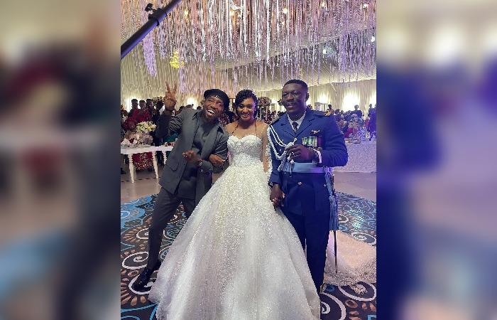 Timi Dakolo Fulfills His Promise, Graces Weddings in Abuja.